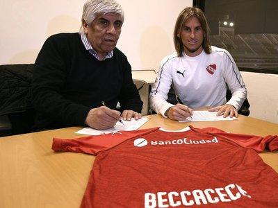 Sebastián Beccacece es el nuevo entrenador de Independiente