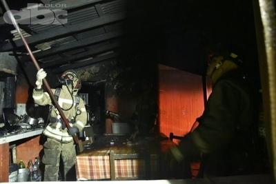 Incendio de posible depósito clandestino de combustible