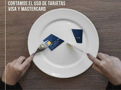 """Hoy y mañana, restaurantes """"cortan"""" pagos con tarjetas"""