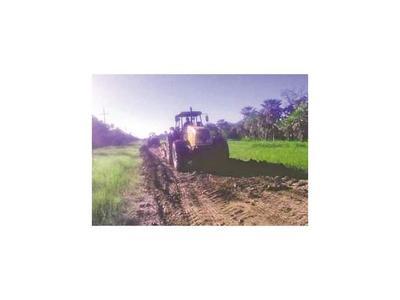 En Chaco sigue reparación de camino ante ausencia de lluvias