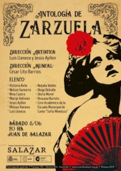 Antología de Zarzuela Española, hoy en el Centro Cultural Juan de Salazar