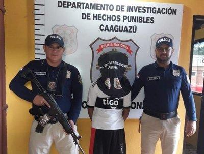 Detienen a hombre con varios antecedentes en Caaguazú