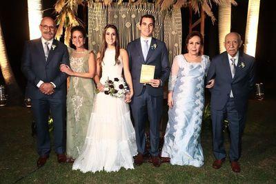 Camila e Ignacio unieron sus vidas