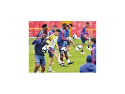 Colombia se prueba en duelo ante Perú