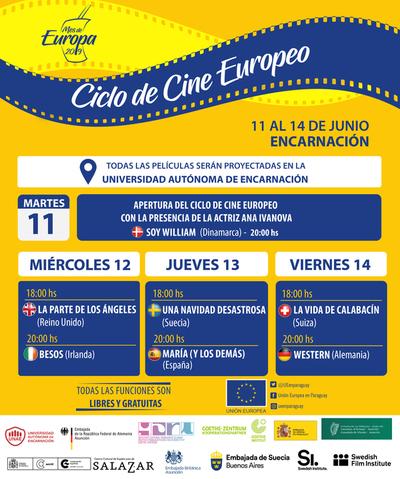 Ciclo de Cine Europeo llega a Encarnación con éxitos de la cinematografía independiente