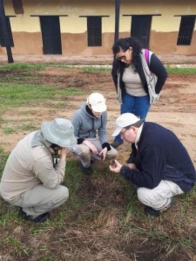 Iniciaron trabajos arqueológicos en el Campamento Cerro León