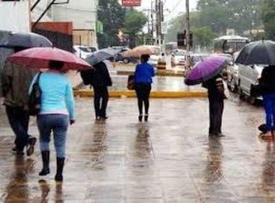 Lluvias dispersas se prevé para este domingo