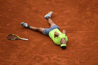 """Nadal, el """"rey"""" de Roland Garros"""