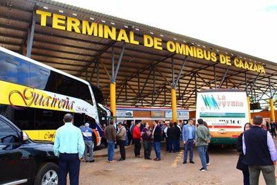 Inauguran servicio de transporte directo desde Caazapá hasta Argentina