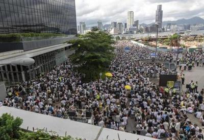Más de un millón de personas protestaron en Hong Kong contra la ley de extradición a China