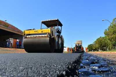 Alto Paraná recibe fuerte inversión en obras de infraestructura y sector social