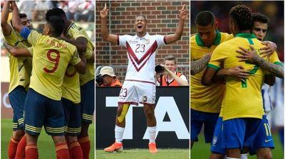Los resultados de amistosos internacionales de cara a la Copa América