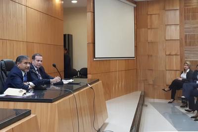 Ministro Ramírez Candia visitó sede de Villarrica