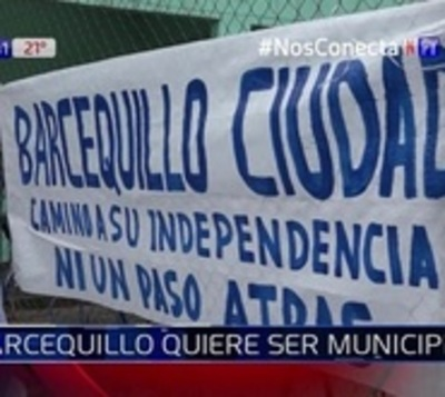 Barcequillo quiere independizarse de San Lorenzo