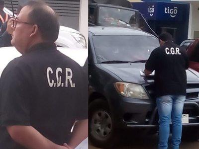San Ignacio: Funcionarios de la C.G.R. realizan control sobre uso de vehículos del Estado