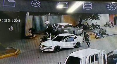 Millonario asalto en Caacupé