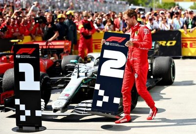 Ferrari apelará sanción a Vettel