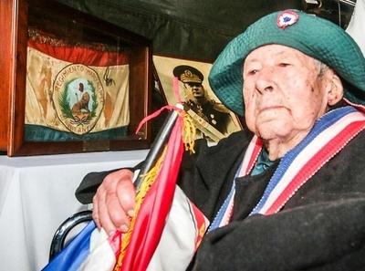 Reportan que actualmente 105 veteranos de la Guerra del Chaco reciben asistencia