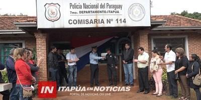 PROVEEN DE PATRULLERA A LA COMISARÍA 114 DEL B° CHAIPÉ