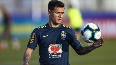 Brasil se apoya en la figura de Philippe Coutinho