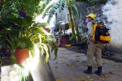 El dengue sigue expandiéndose en Caaguazú
