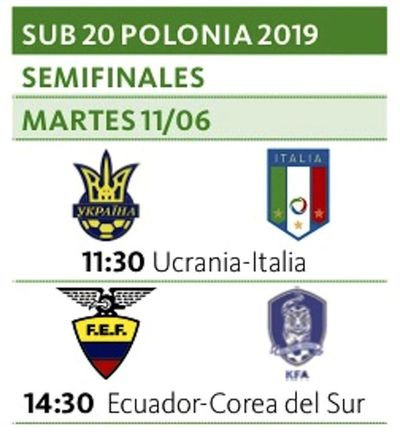 Ecuador busca su 1ª final ante Corea