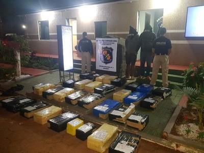 Detienen a personas e incautan droga en Amambay