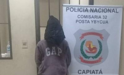 HOY / Cae delivery de marihuana en Capiatá