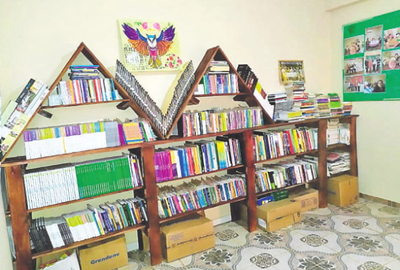 Habilitan biblioteca comunitaria en Km 7