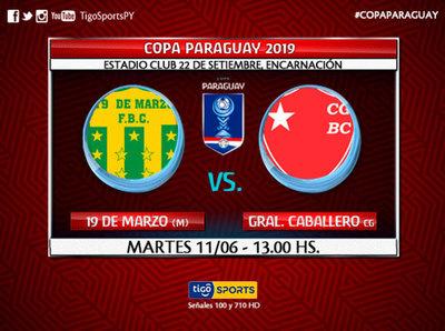En Encarnación, sigue la acción de la Copa Paraguay