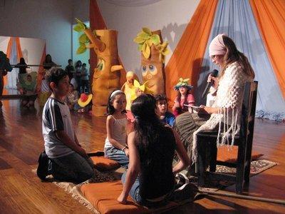 Cuentacuentos para niños en homenaje a la Paz del Chaco