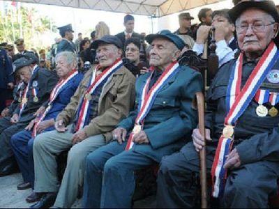 Unos 105 veteranos de la Guerra del Chaco siguen escribiendo historias