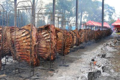En Naranjal ya se preparan para la 17 edición de la Fiesta de la Costilla