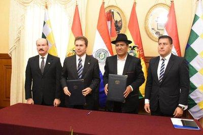 Paraguay y Bolivia cooperarán en defensa contra crimen organizado y desastres naturales