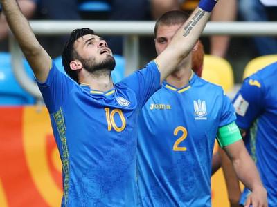Ucrania triunfa ante Italia y se anota en la final
