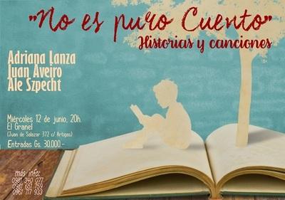 """Obra """"No es puro cuento"""" se presenta en El Granel"""
