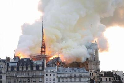 Notre Dame celebrará este sábado su primera misa tras incendio