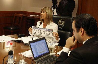 Chapas Mercosur regirán desde el 1 de julio