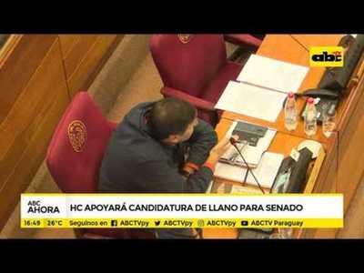 HC apoyará candidatura de Llano para el senado