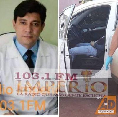 Asesinan a un médico en la vía pública