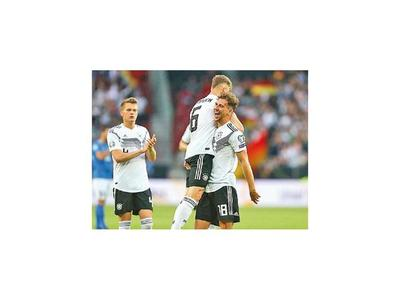 Alemania y Bélgica, firmes