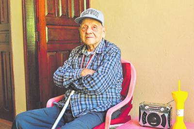 Un héroe de 103 años celebra la Paz del Chaco
