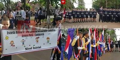 EN CAMBYRETÁ ESTUDIANTES HONRAN EL 12 DE JUNIO.