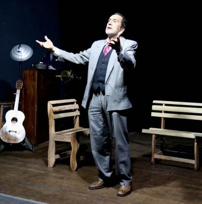 """Última función de """"El pan y la guarania"""", homenaje a José Asunción Flores"""