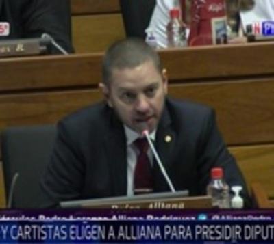 Pedro Alliana vuelve a la presidencia de Diputados