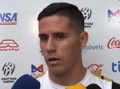 Jorge Mendoza deja de ser jugador de Guaraní