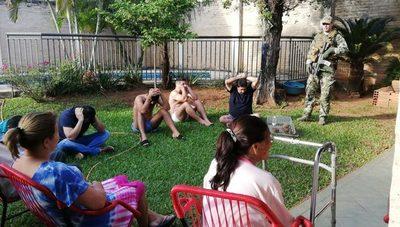 Incautan más de 450 kilos de cocaína, caen paraguayos y colombianos