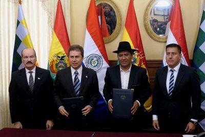 BOLIVIA Y PARAGUAY TRATARÁN HOY SOBRE GAS E HIDROVÍA