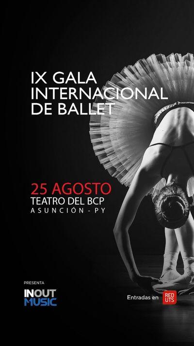 Ballet internacional tendrá su gala en el BCP