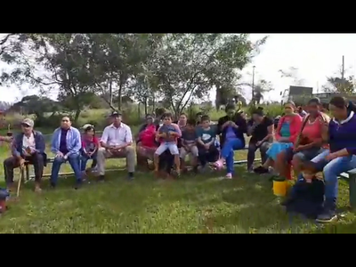 Campesinos de Zapallo reclaman acciones del Indert.
